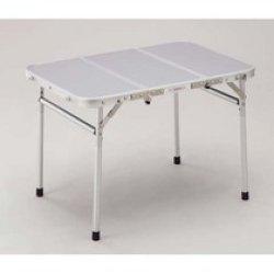 画像1: 折りたたみテーブル(60 x 120)セッティング無